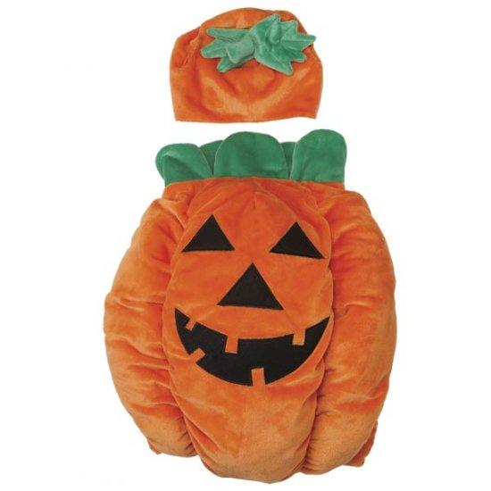 X-SMALL Pumpkin Pooch Costume jack-o-lantern Dog Halloween