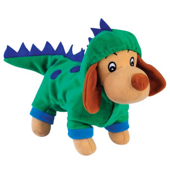 Zanies Halloween Costume Style Dog Squeaky Toys Dogzilla