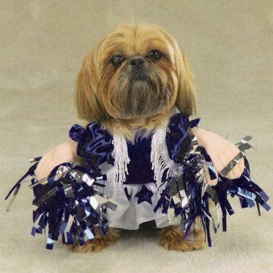 SMALL Spirit Paws Pet Halloween Costume Dog Cheerleader