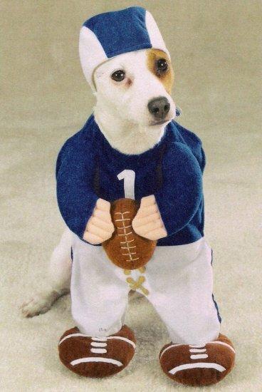 MEDIUM Football Fever Pet Halloween Costume Dog