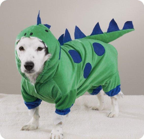 X-SMALL Dogzilla Dinosaur Pet Halloween Dog Costume
