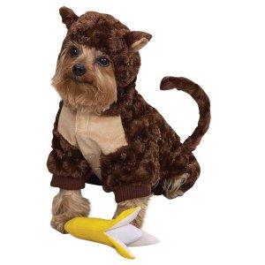 LARGE Monkey Pet Halloween Dog Costume