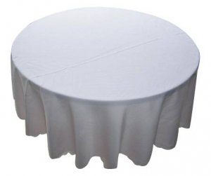 "Tableclothes- 90"" round"
