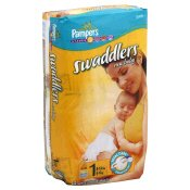 Pampers Swaddlers New Baby Diapers Jumbo, Size 1 / 8-14 lbs
