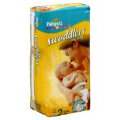 Pampers Swaddlers New Baby Diapers  Jumbo, Size 2 / 12-18 lbs