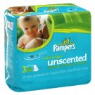 Pampers Natural Aloe Wipes Refills, Unscented 231 Ct