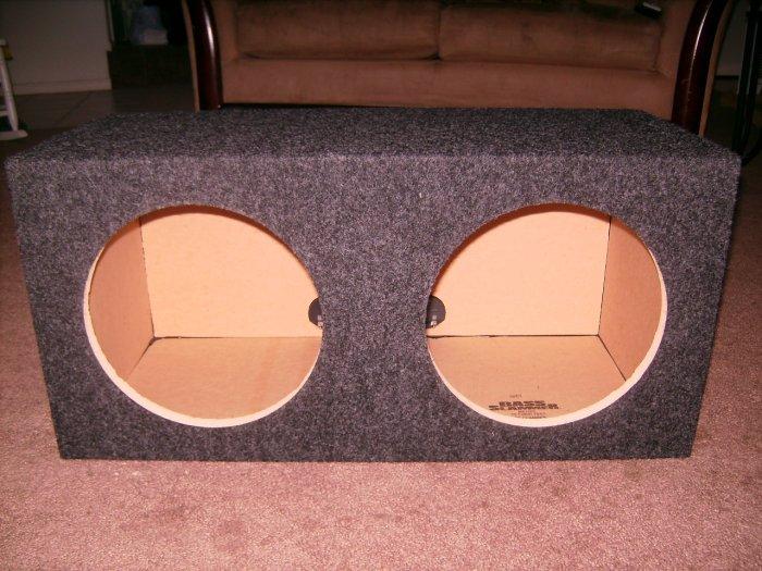 Sealed Dual 10 inch MTX speaker Box