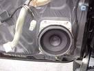 Front Door Speaker Standard Install
