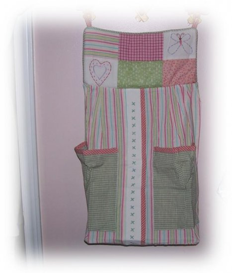 Nojo - Flower Garden Diaper Stacker