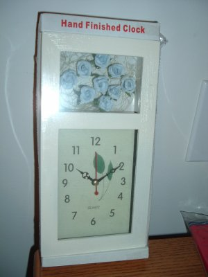 Hand finished clock
