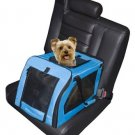 Soft Car Dog Seat/ Carrier - Small in Aqua