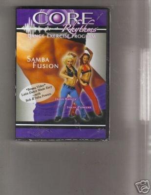 Core Rythmns Dance Excercise Program Samba Fusion