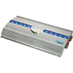 Series Five - 2-Channel Amplifier with Blue Lighted Accent