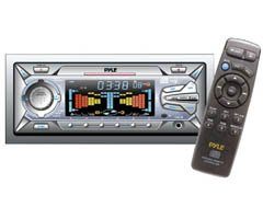 PLCD-CS200 - 1.5 DIN AM,FM-MPX,CD,Cassette Player with Flip Down Face
