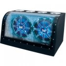 "XNBP-12D 12"" Dual Bandpass Blue illumiNITE Enclosure"