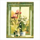 Floral Potted Plants Print