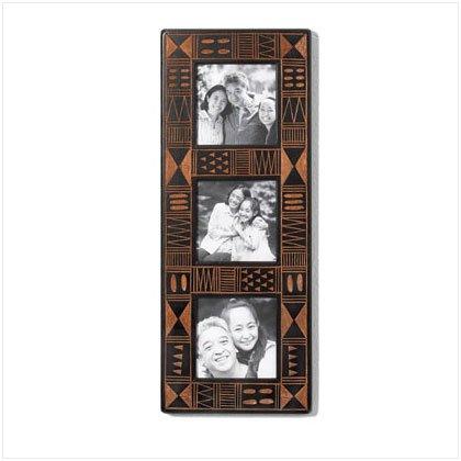 Africa Inspired 3 Photo Frame