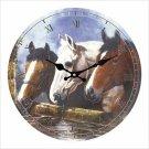 Equestrian Wall Clock