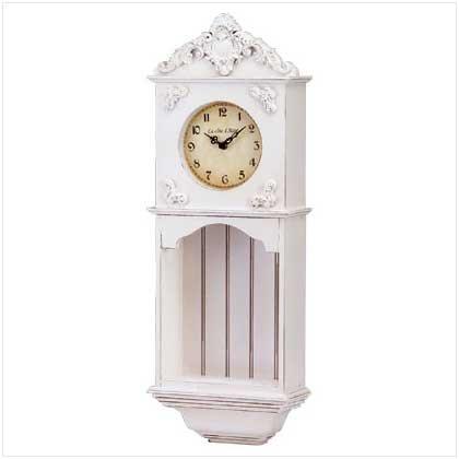 Wood La Cote d'Azur Wall Clock