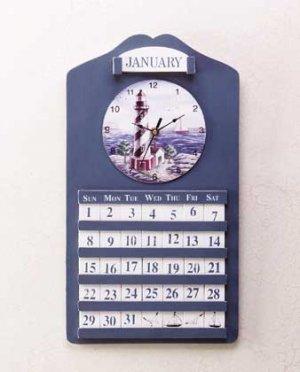 Lighthouse Clock and Perpetual Calendar