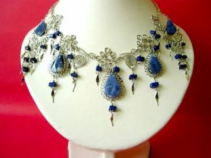 "necklace and earring set ""soadlita"" stones"