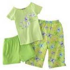 CARTERS BUTTERFLY PJ 3PC SET SZ 4 NWT FREE SHIPPING!
