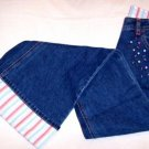 Gymboree Petite Fleur Flared Jeans Sz 10 NWT FREE SHIPPING!!