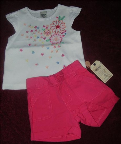 Oshkosh Hot Pink Shorts Sz 2T $24 NWT FREE SHIPPING!!