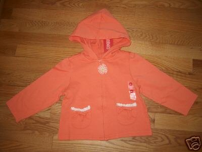 Gymboree Freshly Picked Hoodie Sz 4 NWT FREE SHIPPING!!