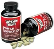 Power Source 100 Multi-Nutrient 180 count
