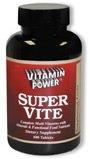 Super-Vite Tablets Mulit-Vitamin Tablets 100 Count