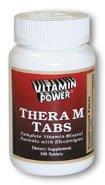 Thera M Tablets Super Multi Vitamin 100 Count