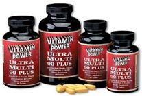 Ultra Multi 90 Plus All-In-One Power-Packed Tablet Multi Vitamin 60 Count