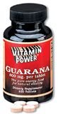 Brazilian Guarana 800 mg. Tablets 100 Count