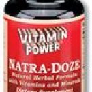 Natra-Doze Herbal Bedtime Formula 100 Count