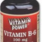 Vitamin B-6 100 mg 100 Count