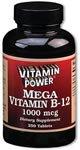 Mega Vitamin B-12 1000 mcg 250 Count