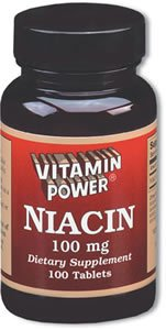Niacin 100 mg Tablets 250 Count