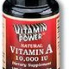 Vitamin A 10,000 IU Softgel Caps 100 Count