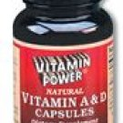 Vitamin A and D Softgel Caps 250 Count