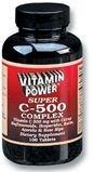 Super Vitamin C 500 mg Complex Tablets 250 Count