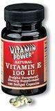 Natural Vitamins E 100 IU Softgels 100 Count