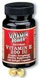 Natural Vitamins E 200 IU Softgels 100 Count