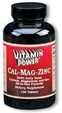 Cal Mag Zinc Tablets 180 Count
