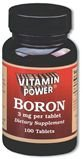 Boron 3 mg Tablets 100 Count