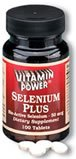Selenium 50 mcg Tablets 100 Count