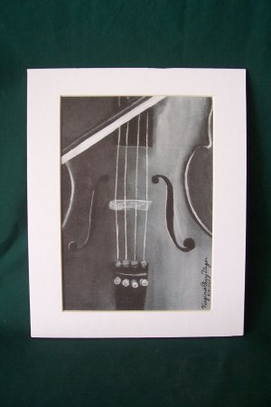 "Play by Virginia Perry-Unger  - Ready to Frame Print : 8"" x 10"""
