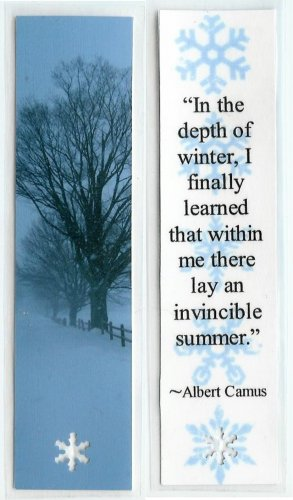 Winter Photography Bookmark