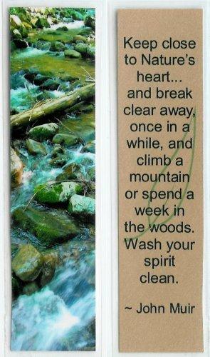 Nature Stream Photography Bookmark