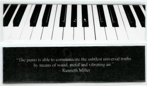Piano Photography Bookmark #2